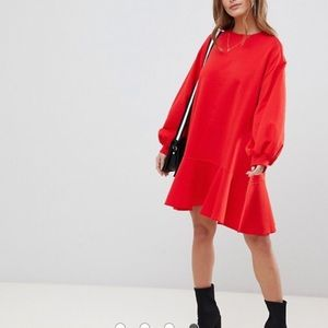 ASOS Sweatshirt Dress